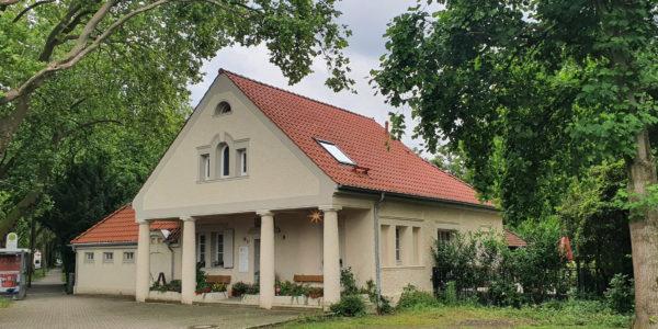 Das ehemalige Wohnhaus des Freidhofsleiters des Südfriedhofs in Ückendorf.